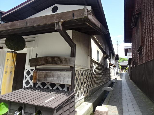福島宿の路地