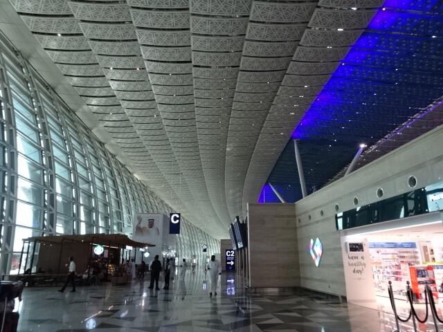 空港の内部