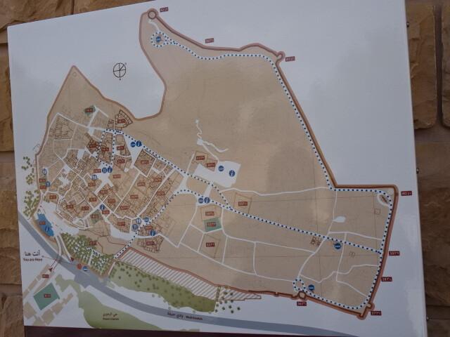 ディルイーヤの地図
