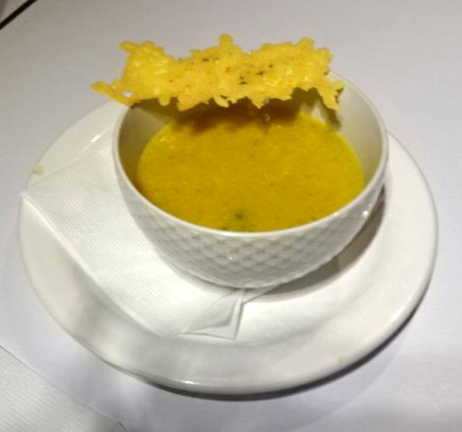 夕食のスープ