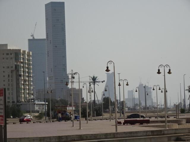 ジェッダの新市街