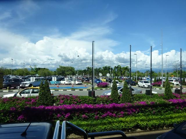 コタキナバルの空港