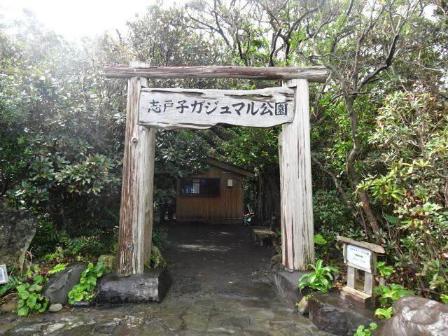 志戸子ガジュマル園入り口
