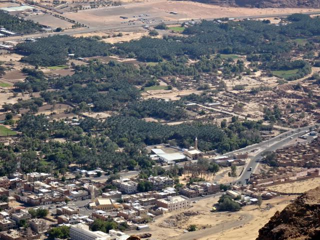 アルウラの町