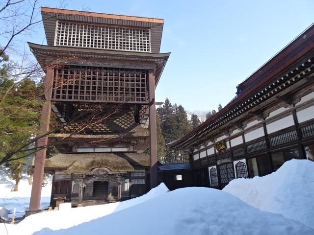 西福寺本堂と開山堂