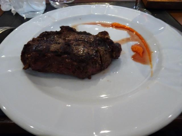 アルゼンチン牛んステーキ
