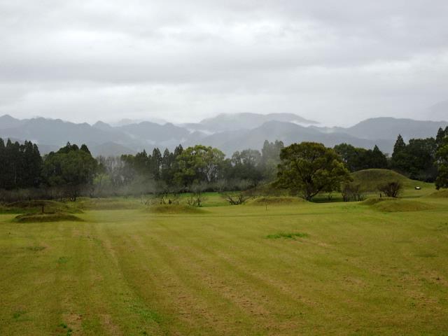 4号墓から見た景色