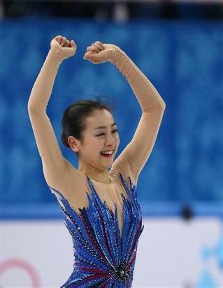 ソチ五輪フィギュア女子 浅田真央は自己ベスト更新も6位 海外の反応