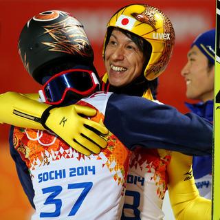 ソチ五輪スキージャンプ男子ラージヒル 41歳の葛西紀明が銀メダル 海外の反応