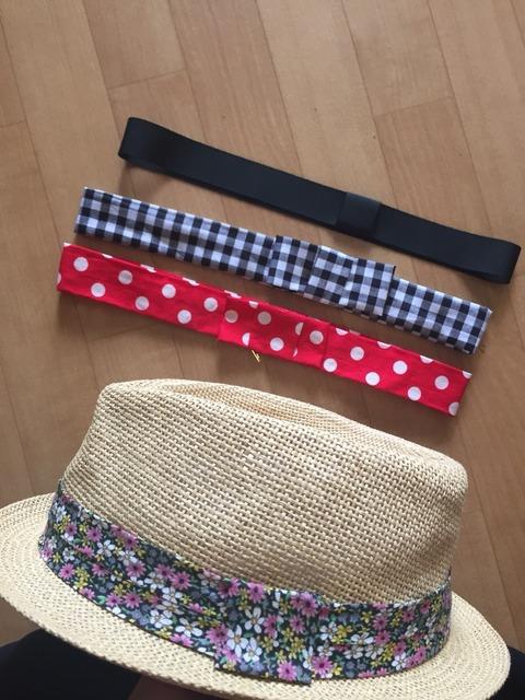 着せ替えパーツで一つの帽子を何通りも楽しむ。