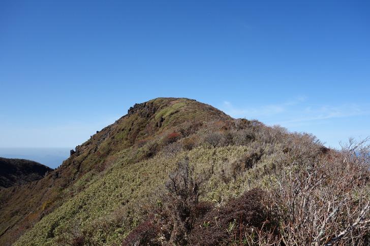 韓国岳 北壁