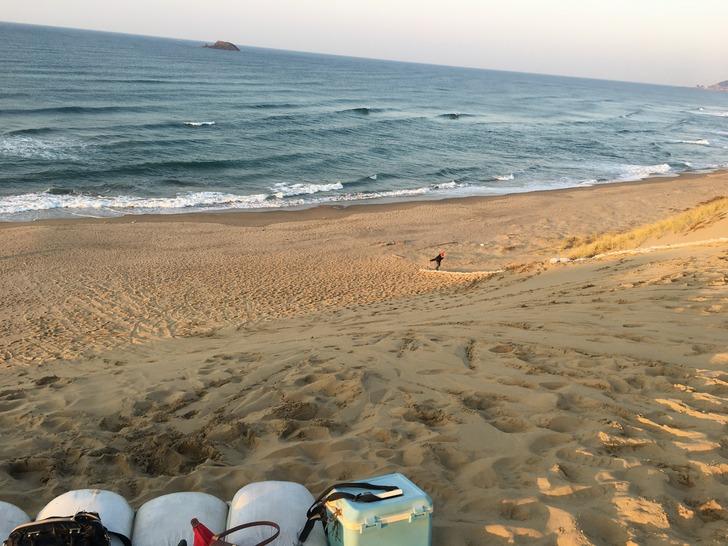 鳥取砂丘 サンドボード