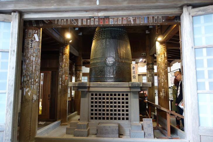 三井寺 弁慶の引摺り鐘