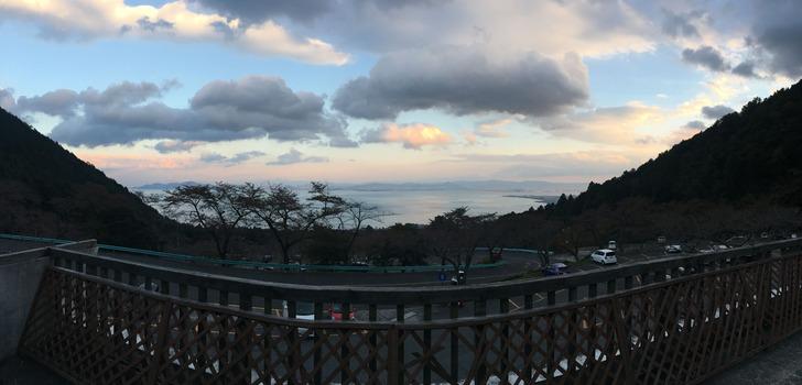 びわ湖バレイ 琵琶湖