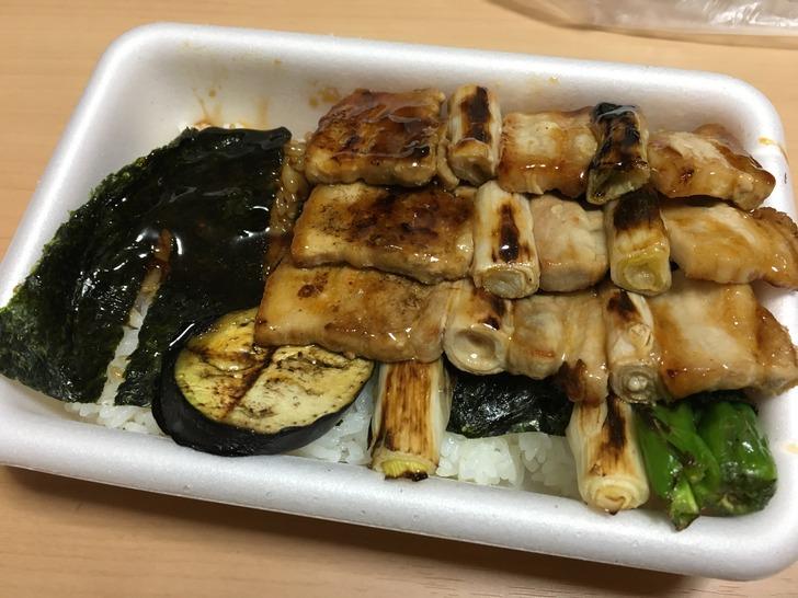 函館 ハセガワストア やきとり弁当