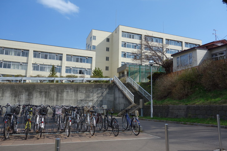 函館西高等学校 格技場