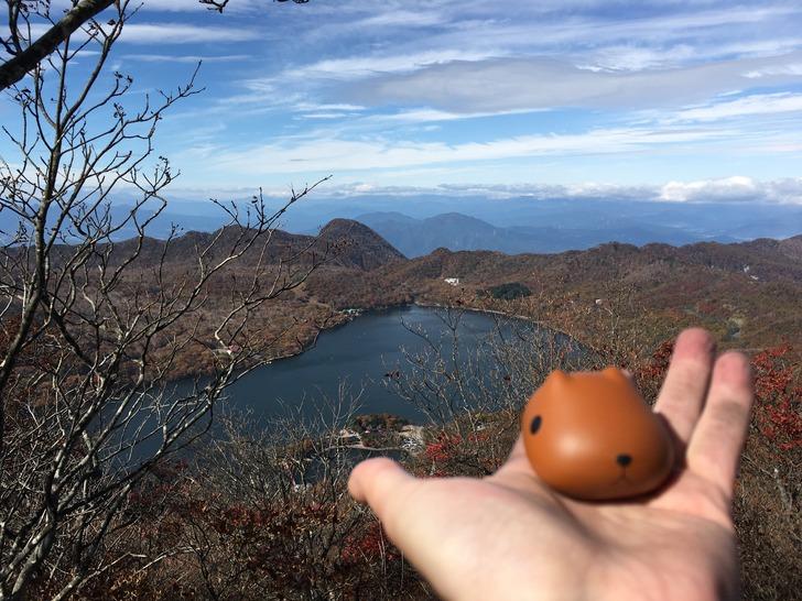 赤城山 駒ケ岳 大沼 カピバラさん