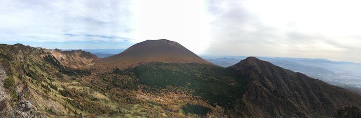 黒斑山 浅間山