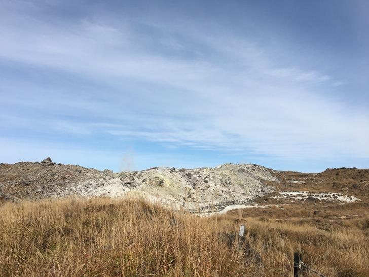 韓国岳 硫黄山