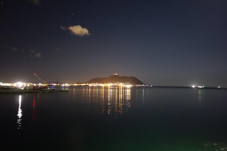 津軽海峡フェリー 函館山