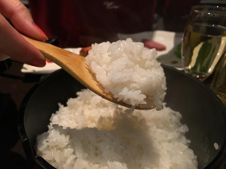 湯心亭 ニセコ産ななつぼしの米