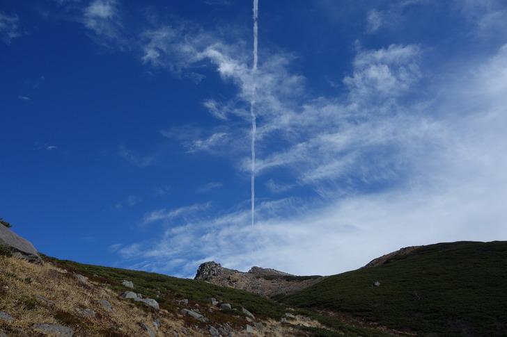 白山 君の名は。 ティアマト彗星 飛行機雲