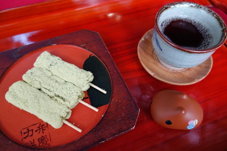 三井寺 名物 力餅