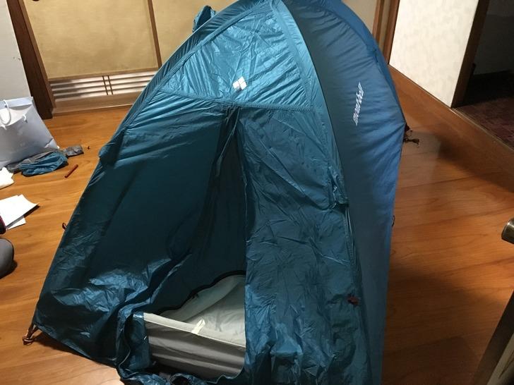 モンベル テント ステラリッジ2型