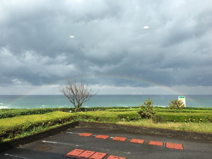 ゆうひパーク三隅 虹 日本海