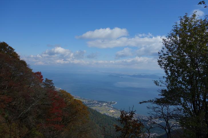 蓬莱山 琵琶湖