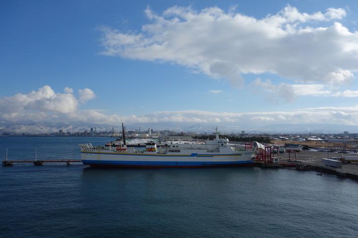 津軽海峡フェリー ブルードルフィン 甲板