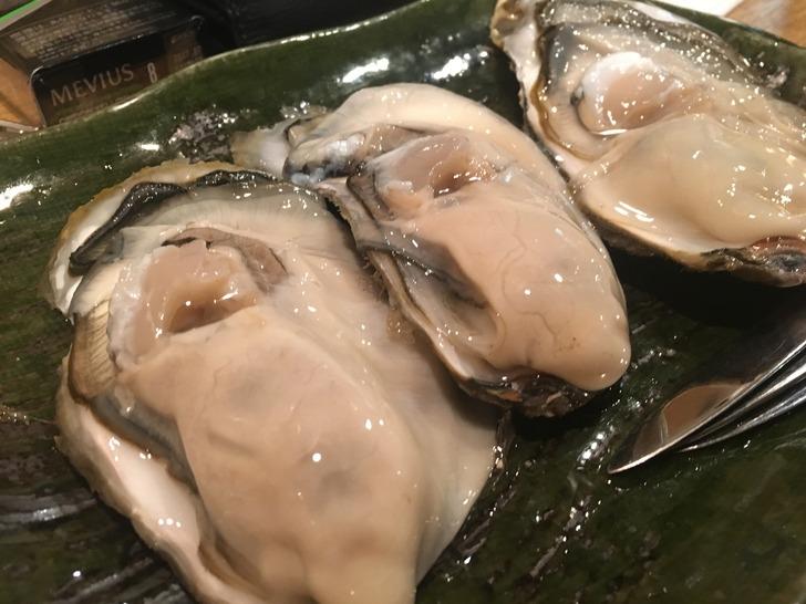 茶酒厨房 おか季 生牡蠣
