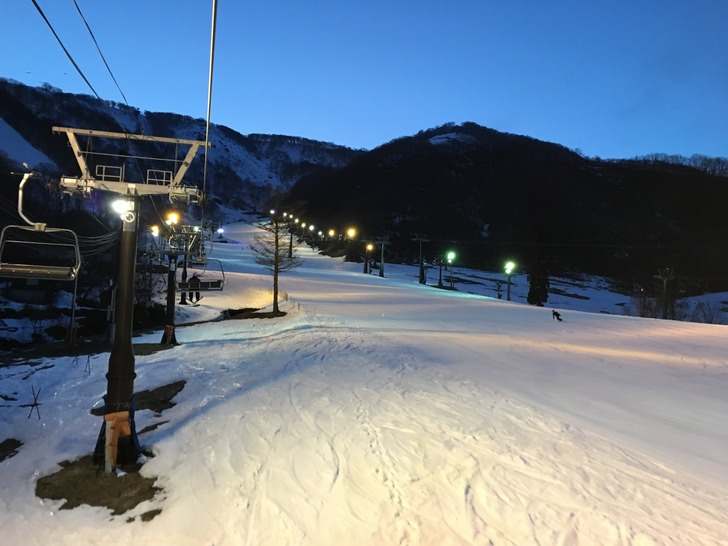 白馬五竜スキー場ナイター