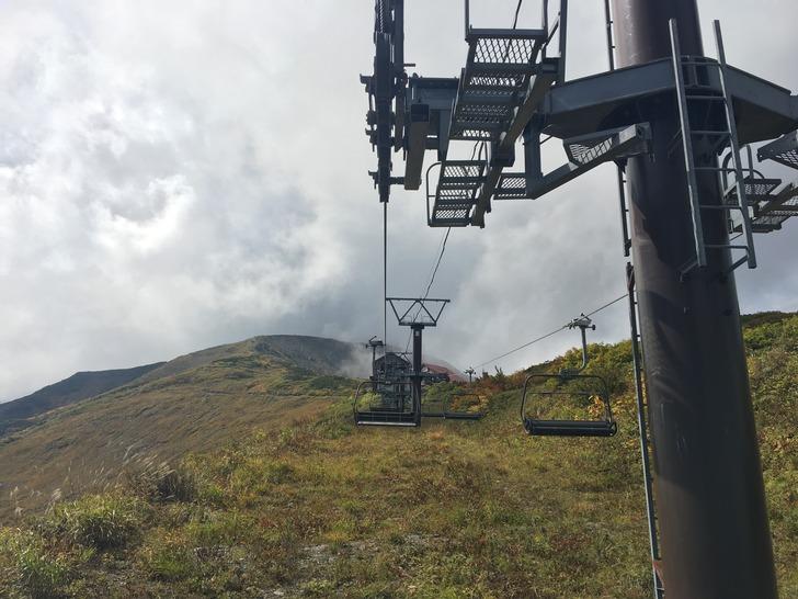 八方尾根スキー場 グラートクワッド