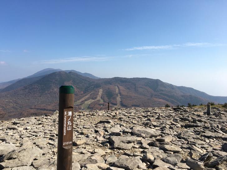 湯の丸山山頂