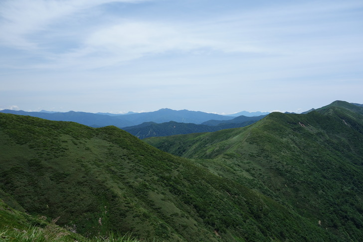 巻機山 稜線