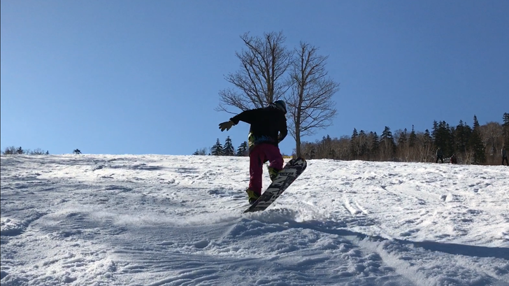 スノーボード kyompi グラトリ ノーリーフロント540