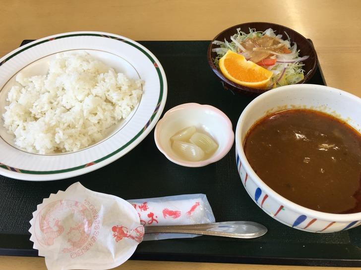 鳥取砂丘 砂丘会館 海鮮スープカレー