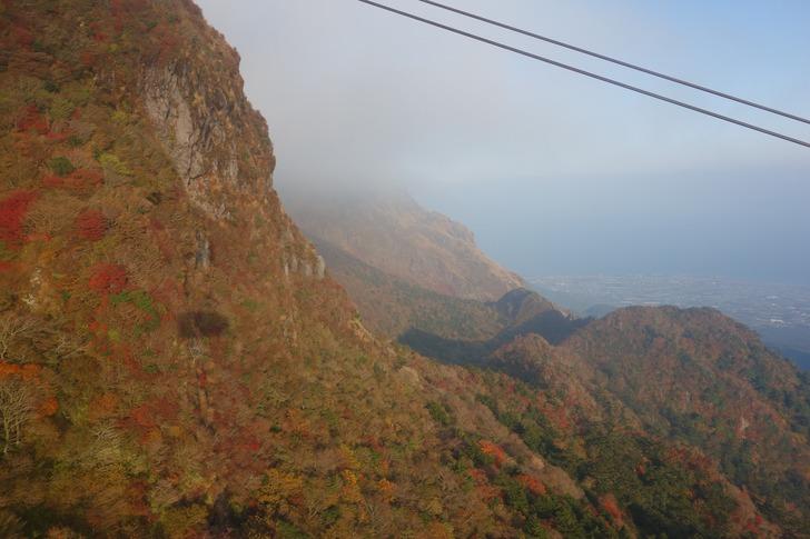 雲仙岳 雲仙ロープウェイ 平成新山