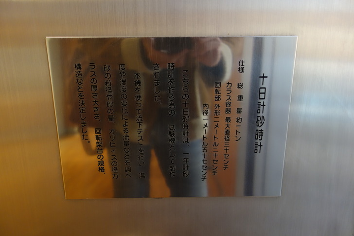 サンドミュージアム 十日計砂時計
