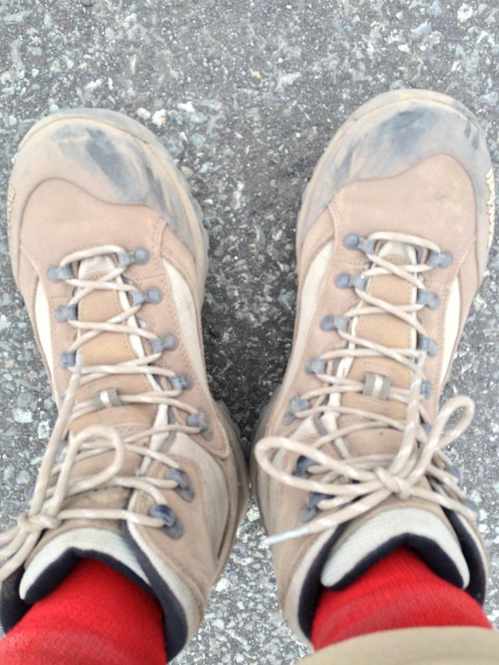 富士山 登山靴