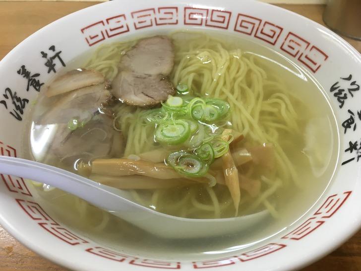 函館 塩ラーメン 滋養軒