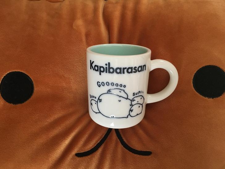 カピバラさんマグカップ