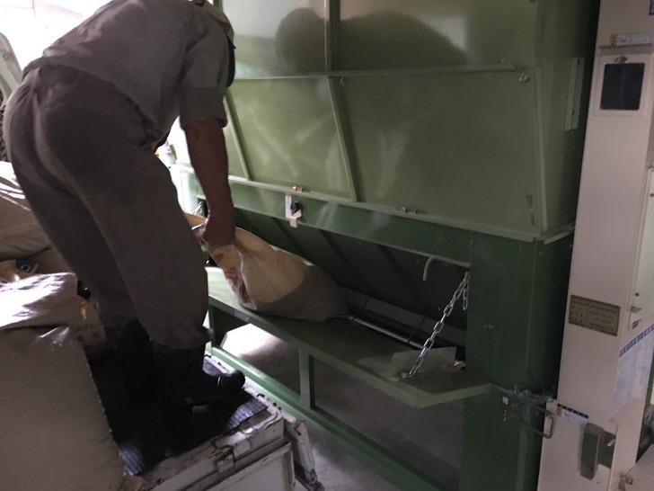 新潟 稲刈り 乾燥機