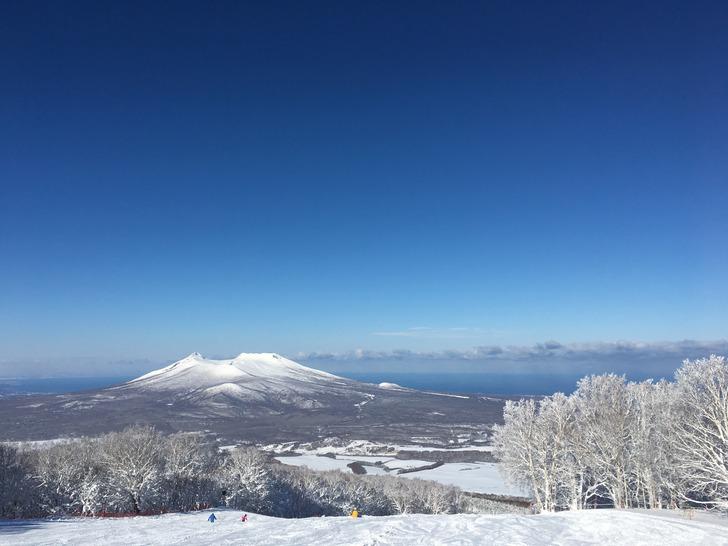 北海道 函館七飯スノーパーク  駒ケ岳