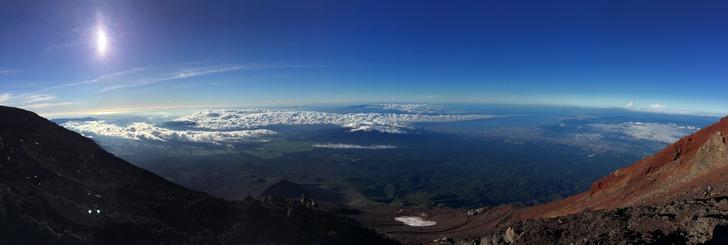富士山 パノラマ