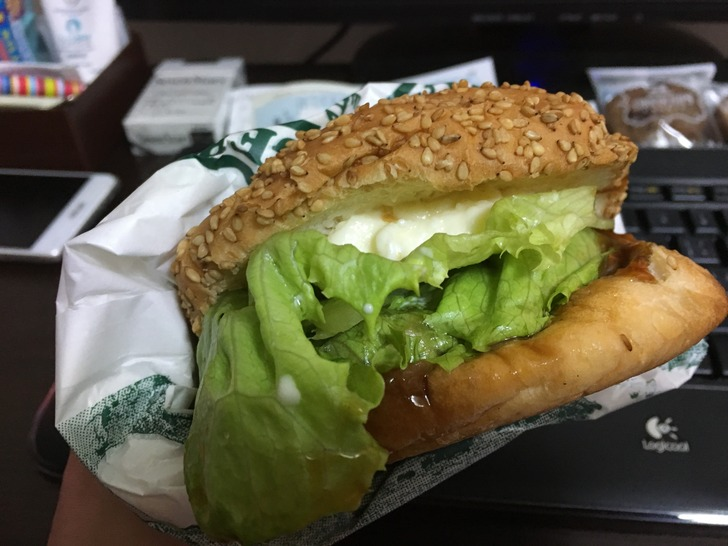 ラッキーピエロ スペシャル生ベーコンエッグバーガー