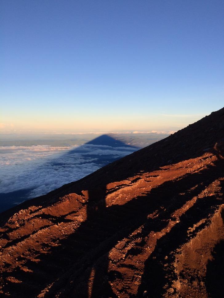 富士山 影富士