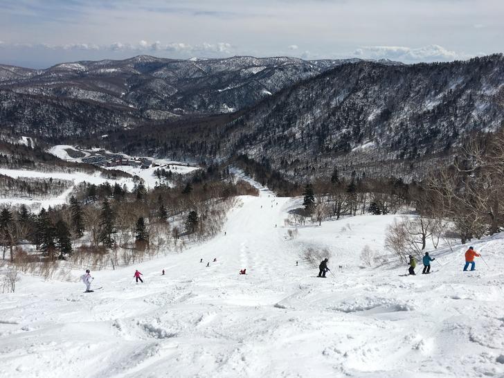 札幌国際スキー場 コブ