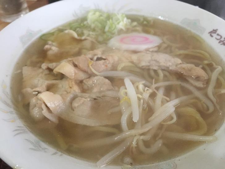函館 たつみや食堂 塩ラーメン